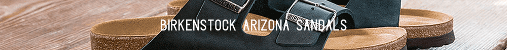 Birkenstock Arizona Sandals Banner