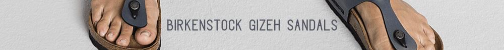 Birkenstock Gizeh Sandals Banner