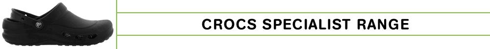 Crocs Specialist Banner