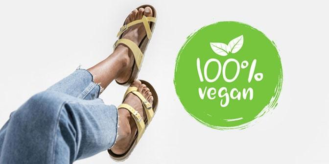 100% Vegan foot wear