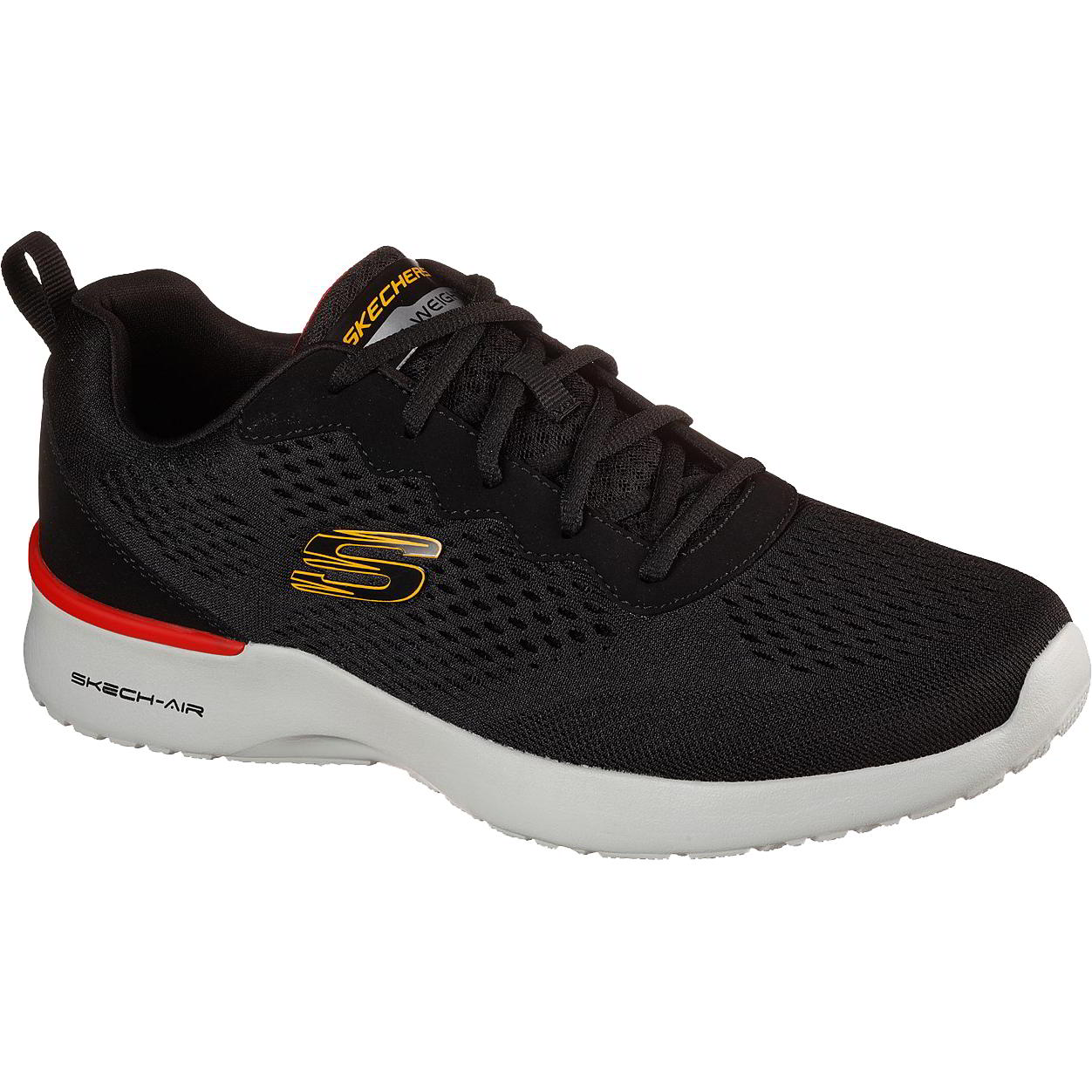 Skechers Mens Air Dynamight Trainers - Black