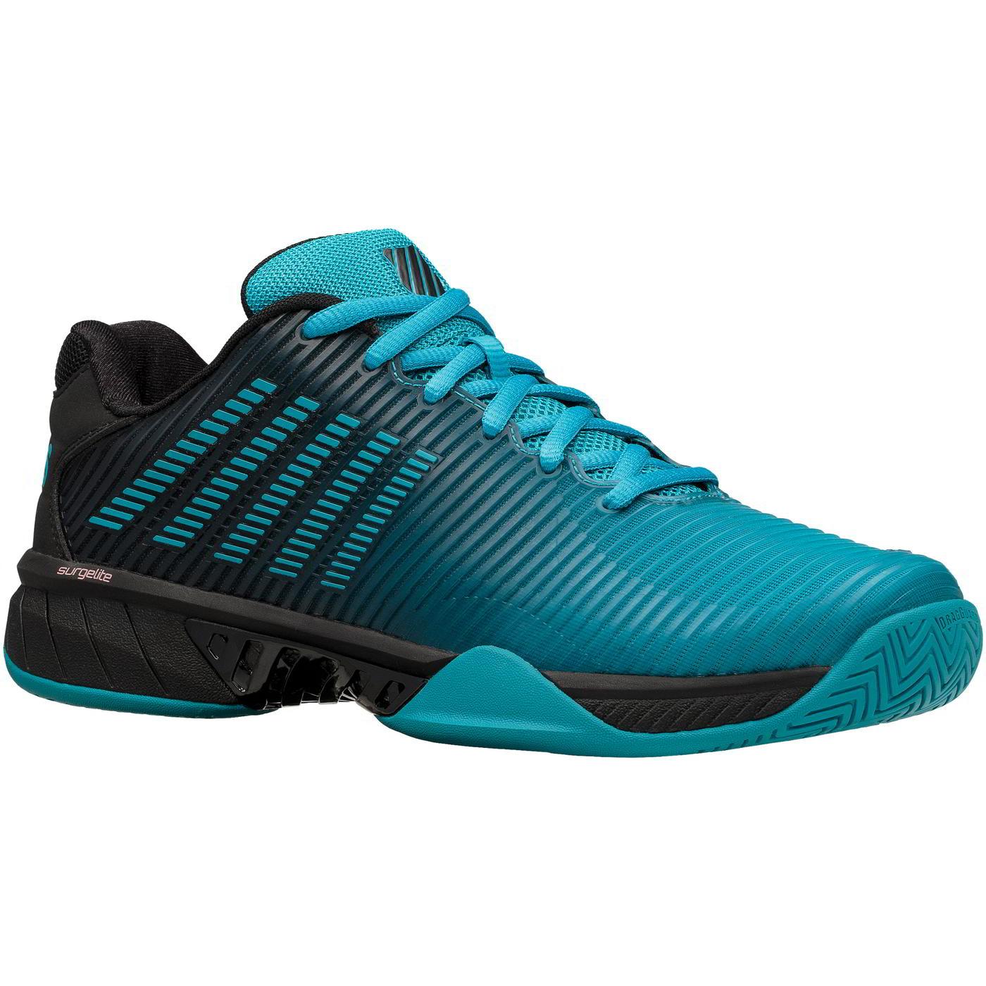 K-Swiss Mens Hypercourt Express 2 Tennis Shoes - Algeirs Blue Black