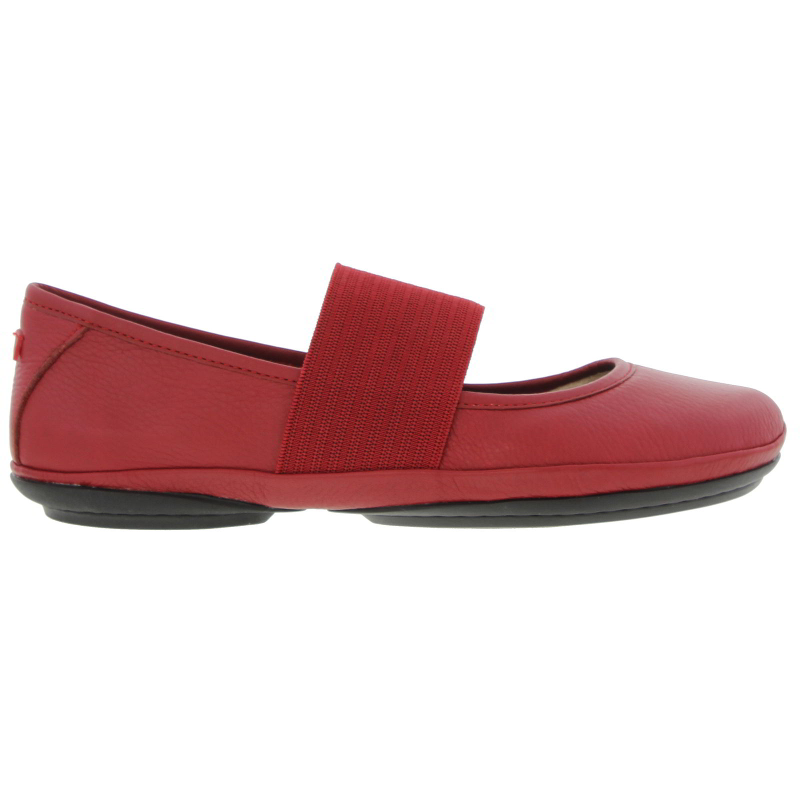 Camper Womens Right Nina 21595 Ballet Pumps Shoes - Red