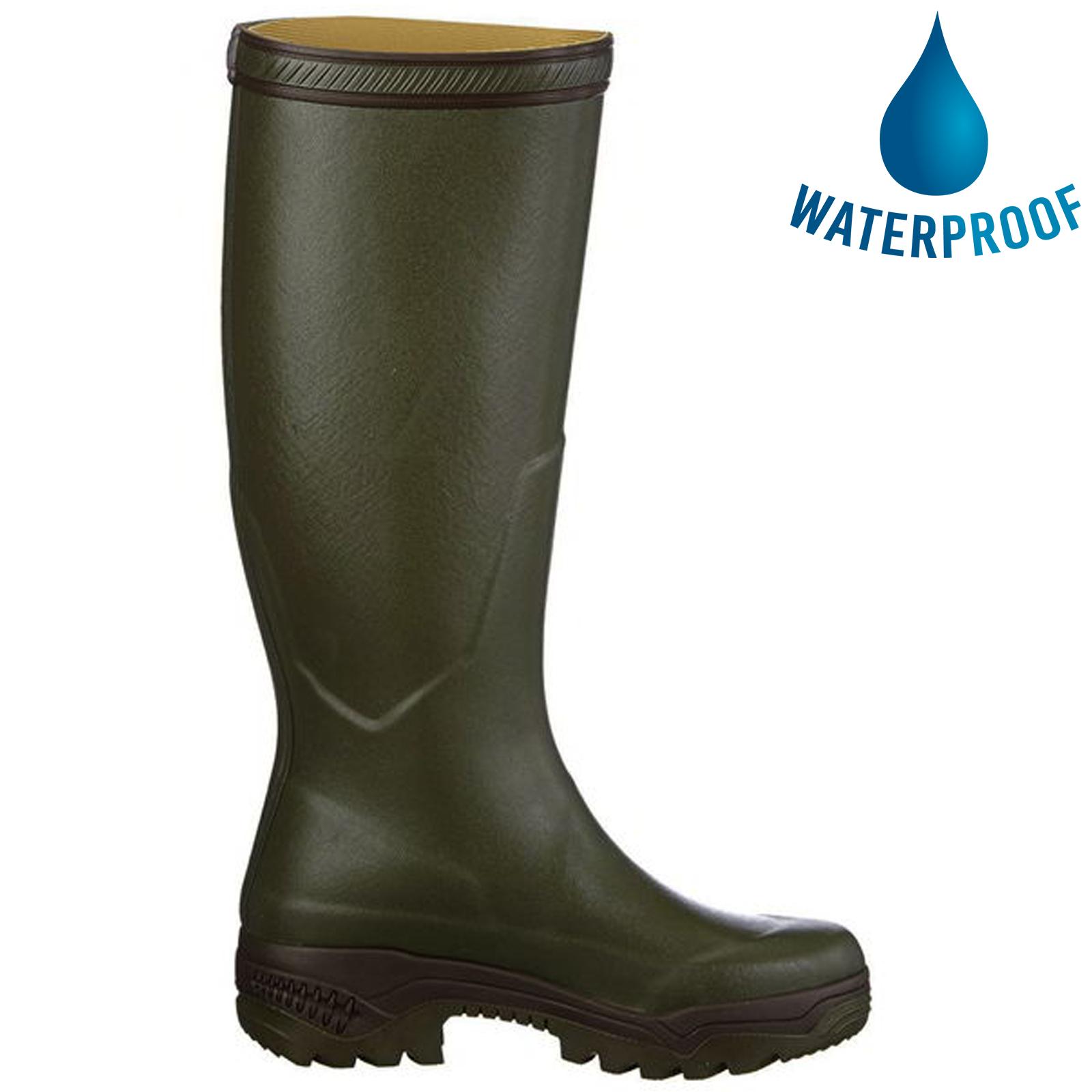 Aigle Parcours 2 Mens Womens Wellies Rain Boots - Khaki