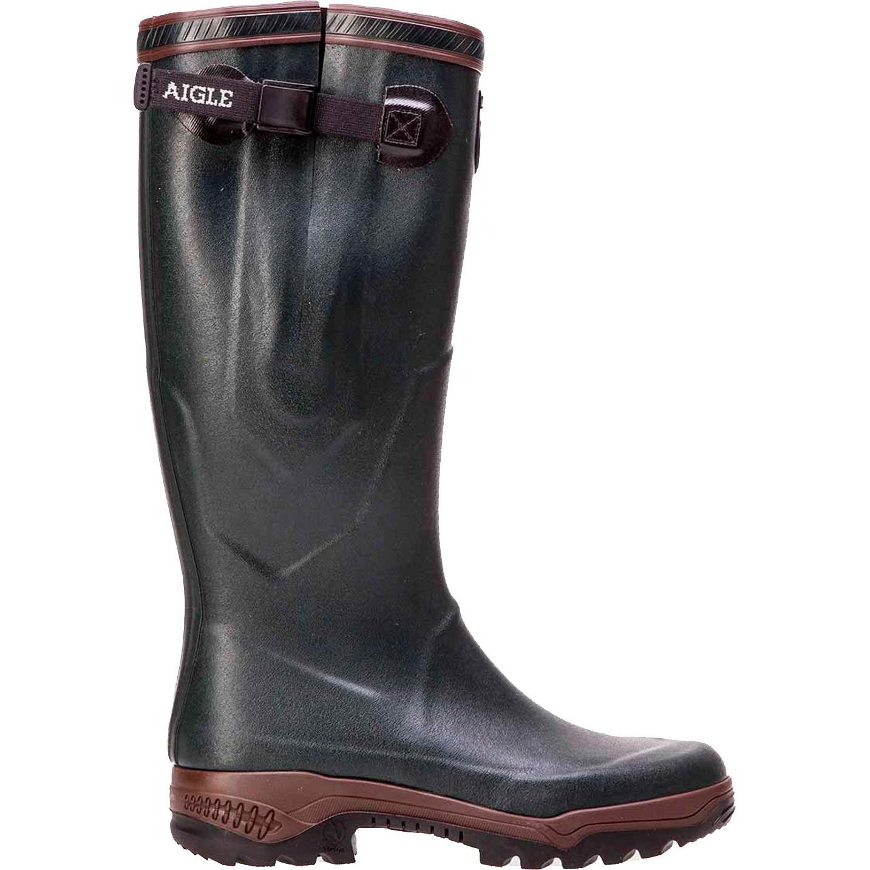 Aigle Parcours 2 Vario Adjustable Mens Womens Wellies Rain Boots - Bronze