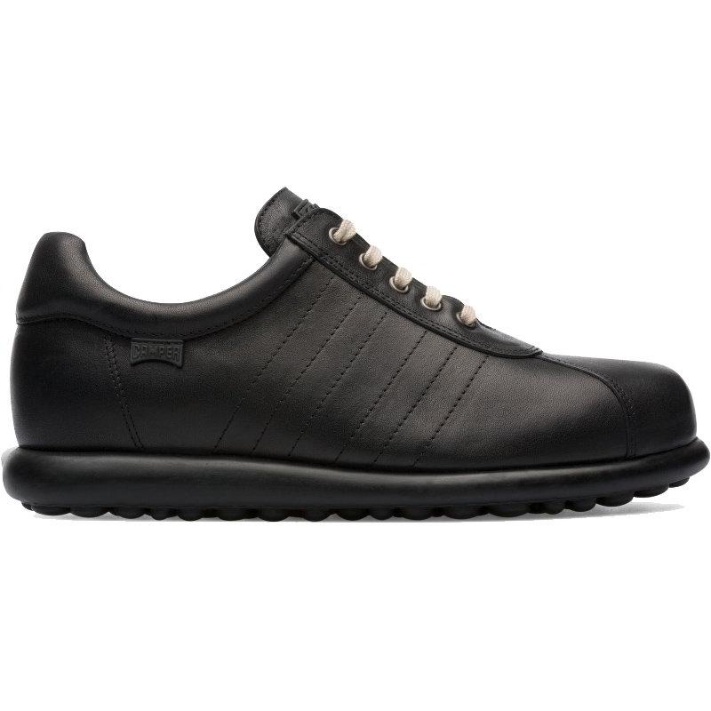 Camper Mens Pelotas Ariel 16002 Leather Shoes - Black 281
