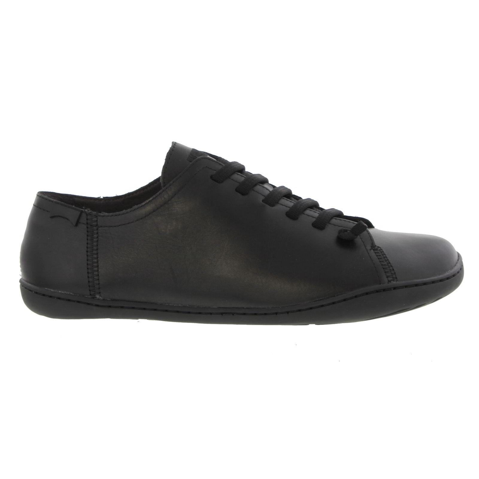 Camper Mens Peu Cami 17665 Leather Shoes - 014 Black