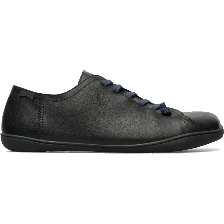 Camper Mens Peu Cami 17665 Leather Shoes - Black 217