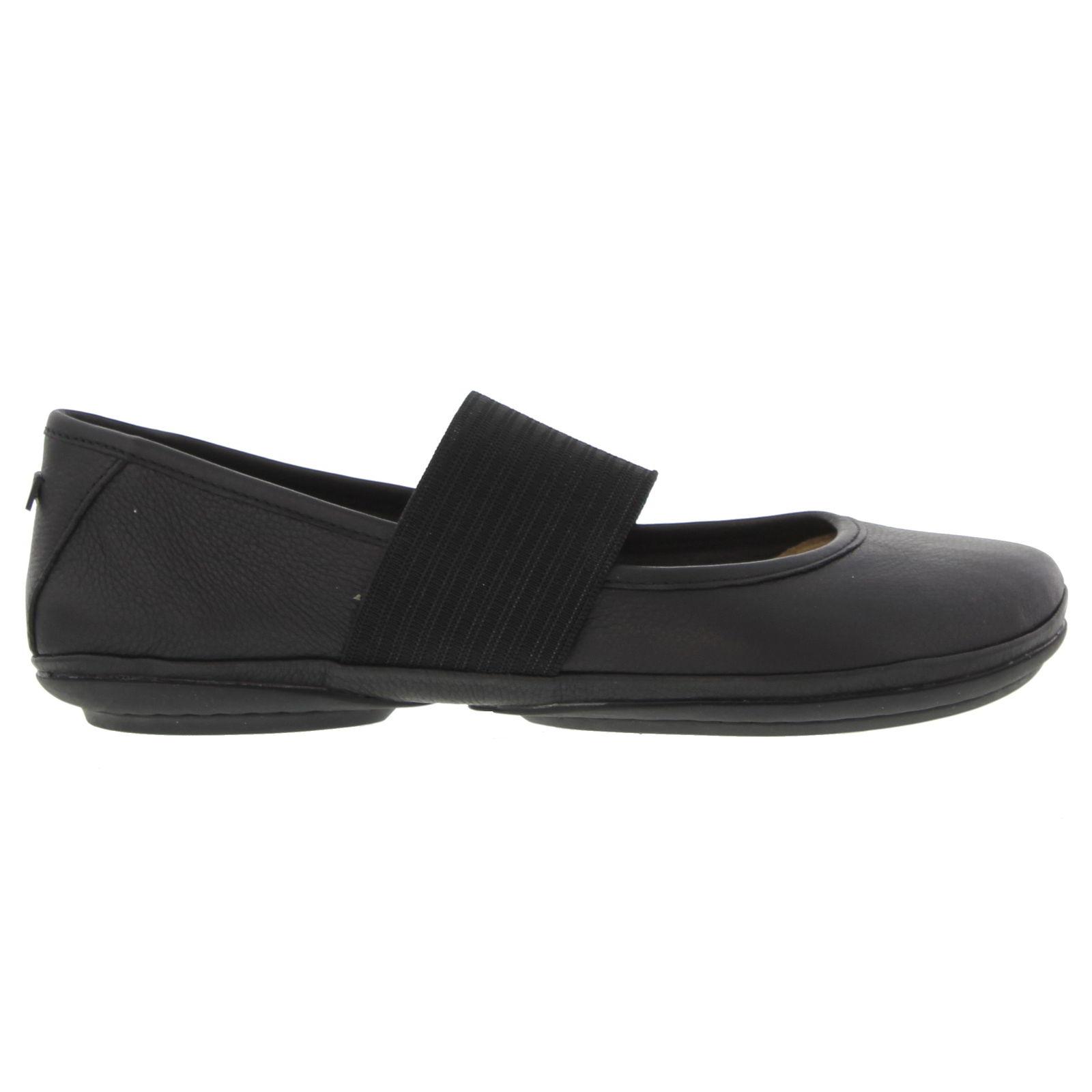 Camper Womens Right Nina 21595 Ballet Pumps Shoes - Black