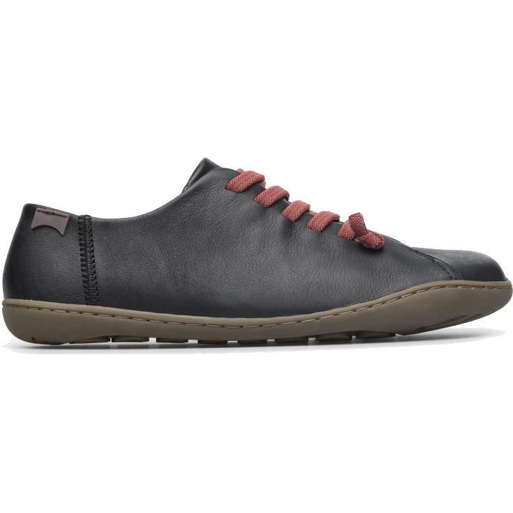 Camper Womens Peu Cami K200514 Leather Shoes - Black 020