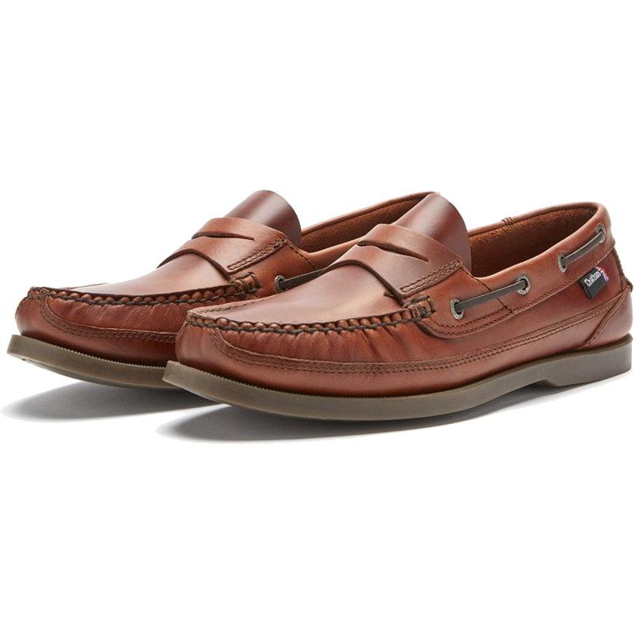 Chatham Mens Gaff II G2 Slip On Deck Shoes - Seahorse