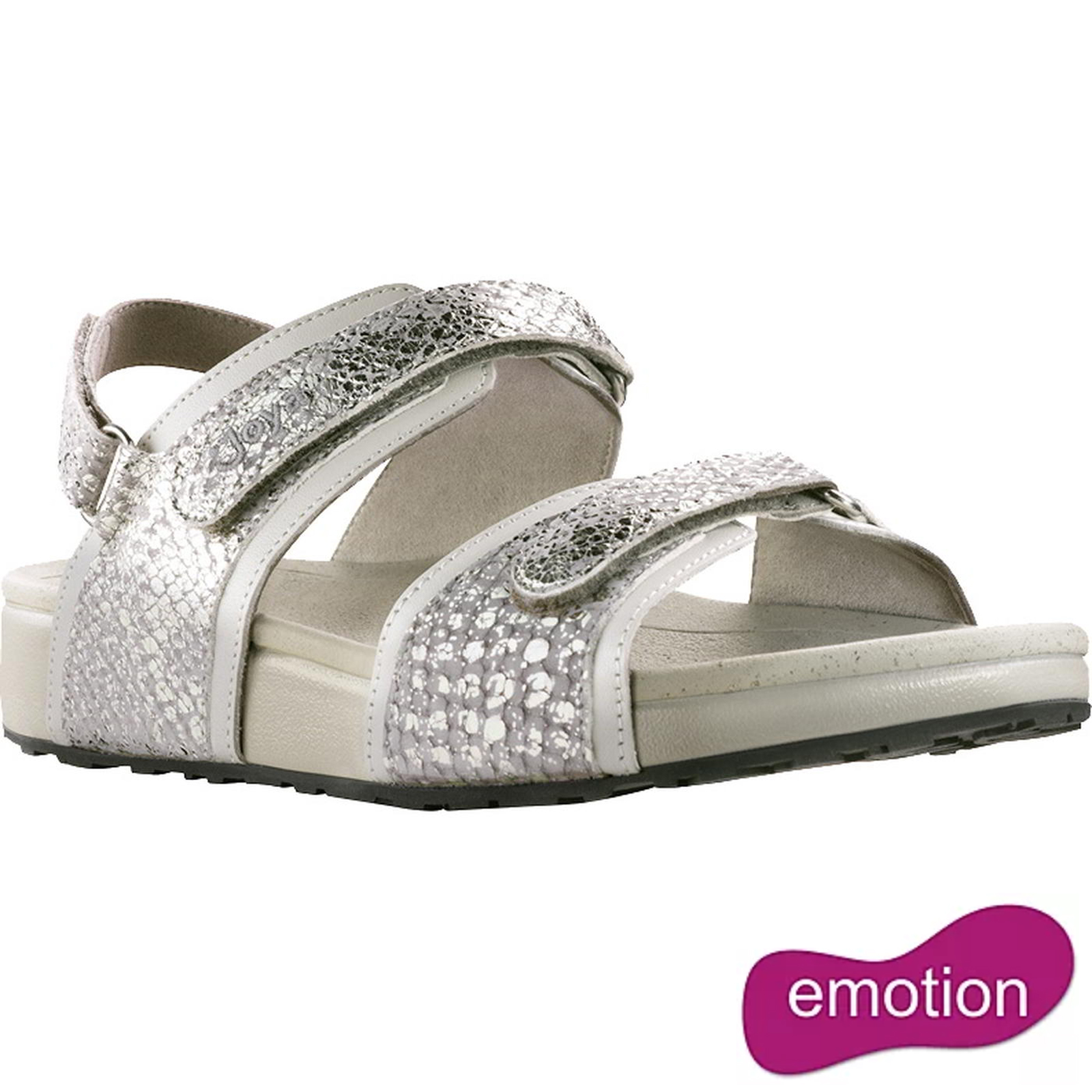 Joya Womens Amalfi Sandals - Silver