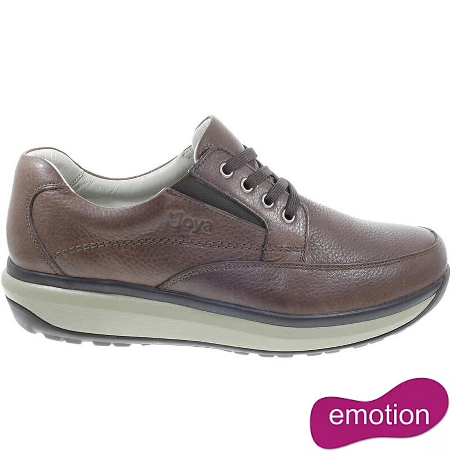 Joya Mens Cruiser II Leather Shoes - Brown