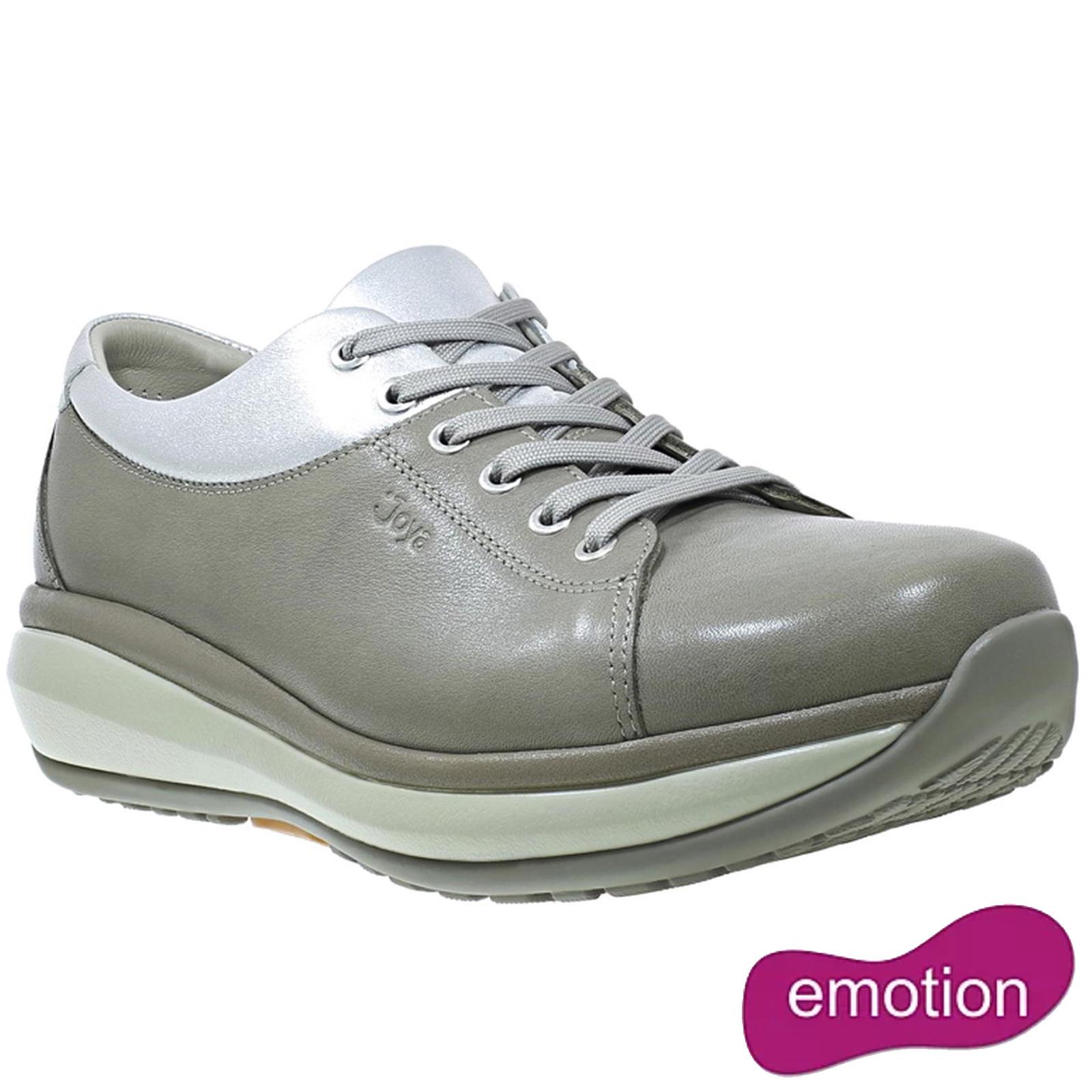 Joya Womens Athena Leather Shoes - Moonrock