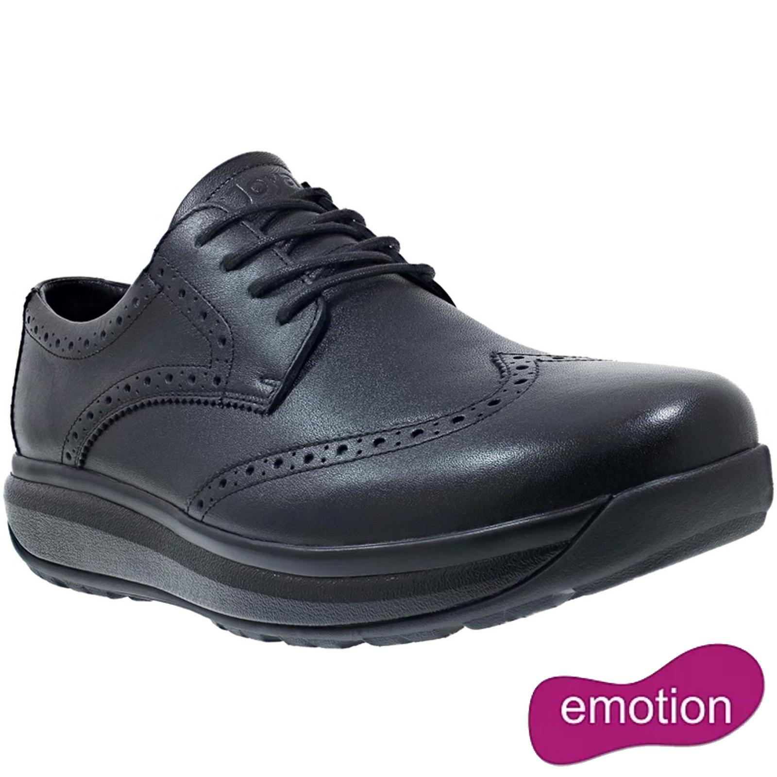 Joya Mens Paso Fino II Formal Leather Shoes - Black