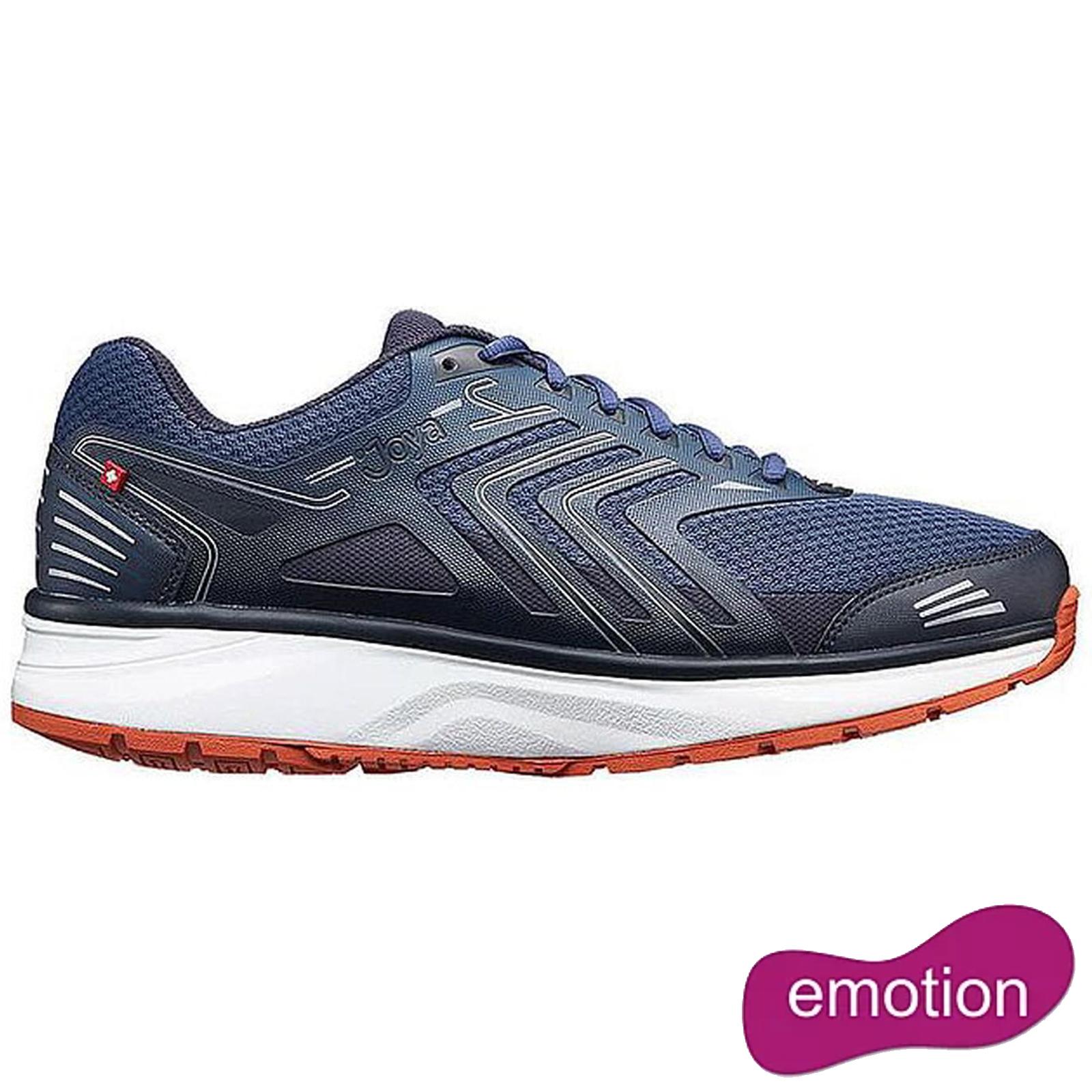 Joya Mens Flash Emotion Trainers Shoes - Dark Blue