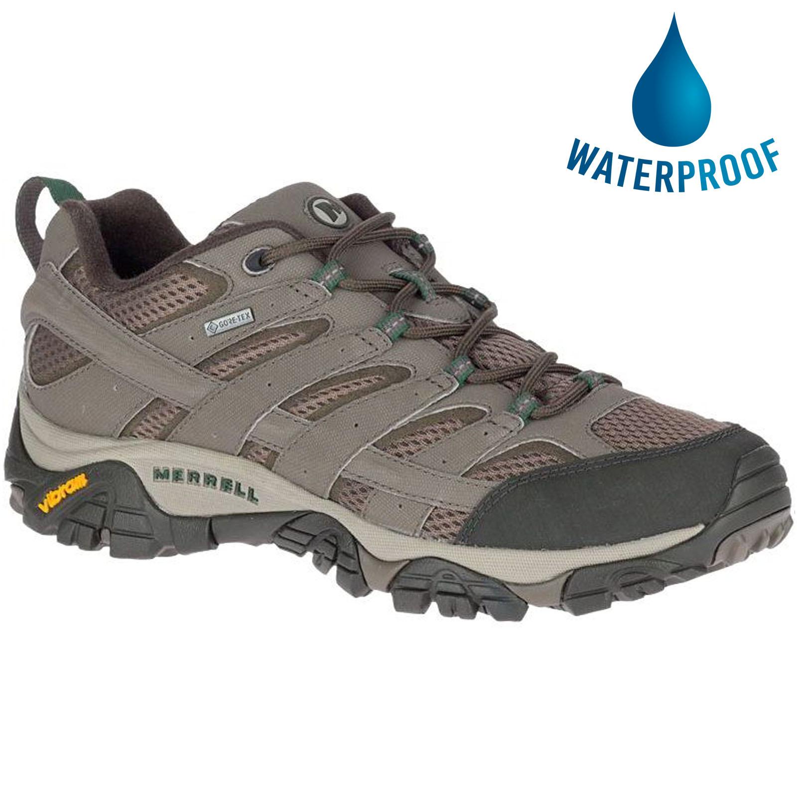 Merrell Mens Moab 2 GTX Walking Shoes - Boulder