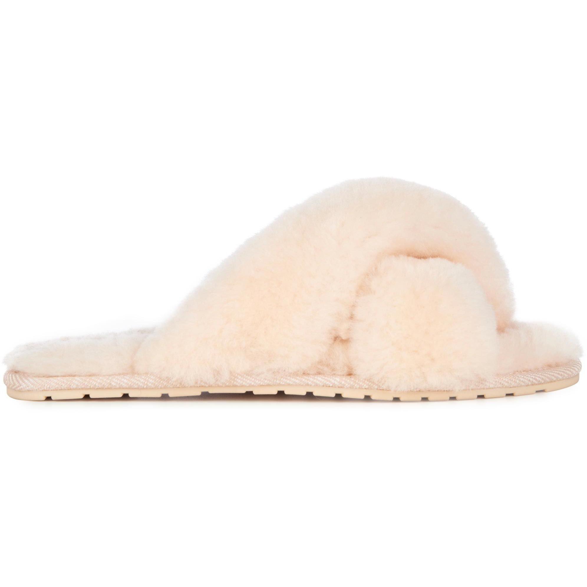EMU Australia Womens Mayberry Sheepskin Slippers - Natural