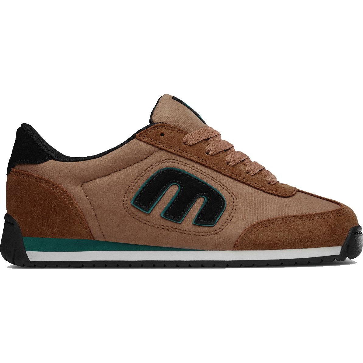 Etnies Mens Lo Cut II LS Skate Shoes - Brown Black