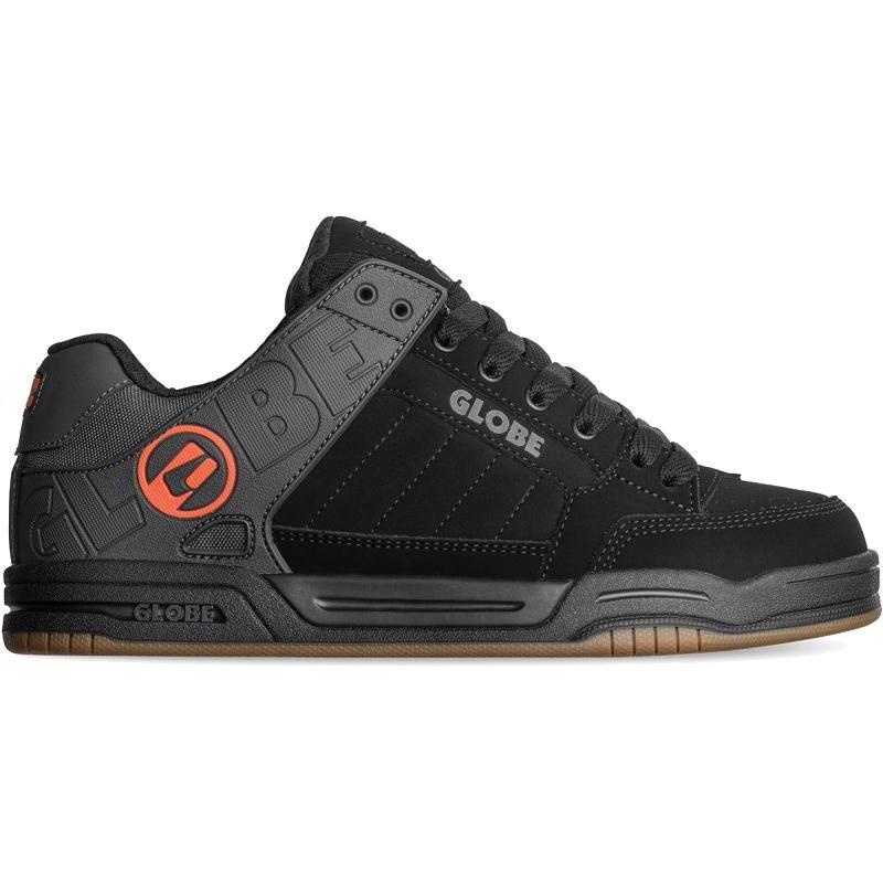 Globe Mens Tilt Skate Shoes - Black Split Orange