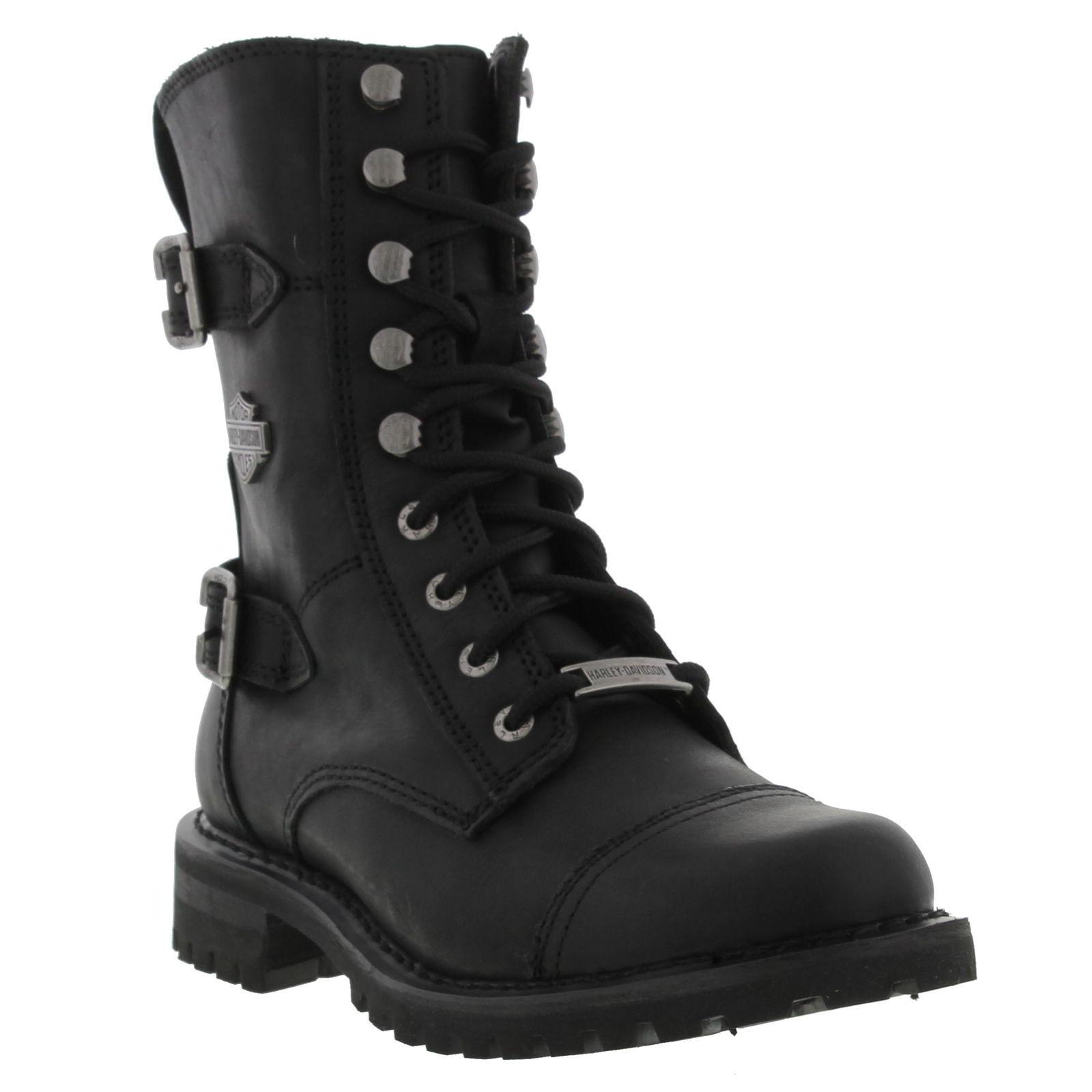 Harley Davidson Womens Balsa Ankle Boots