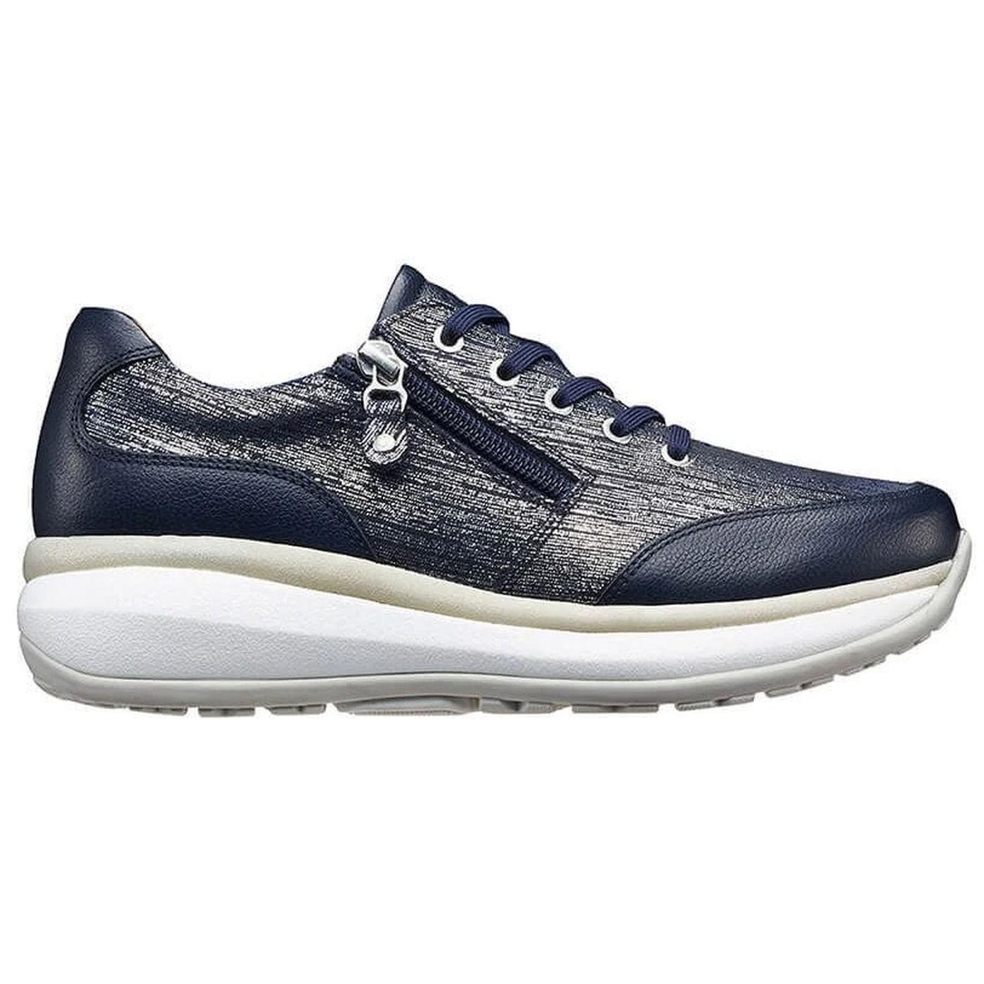 Joya Womens Rachel Shoes - Blue Metallic