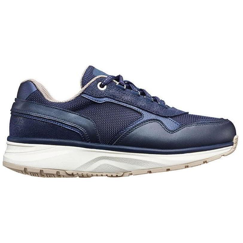 Joya Womens Tina II Casual Leather Shoes - Dark Blue