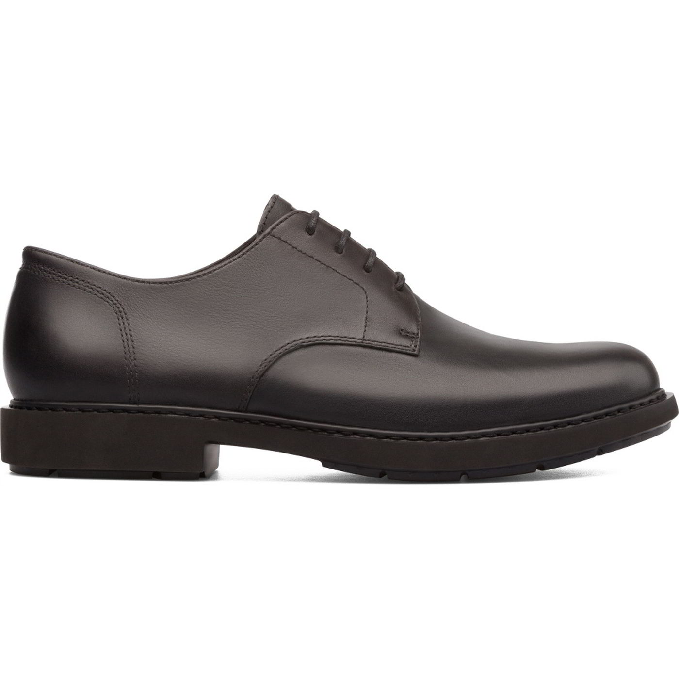 Camper Mens K100152 Neuman Leather Shoes - Black