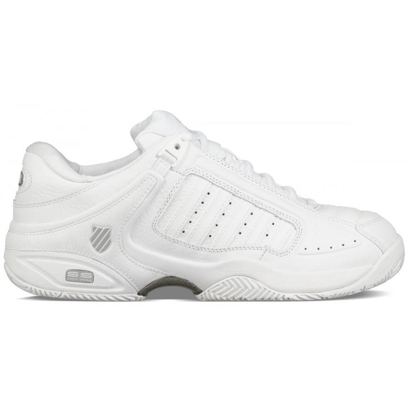 K Swiss Defier Womens Tennis Shoes - White Highrise