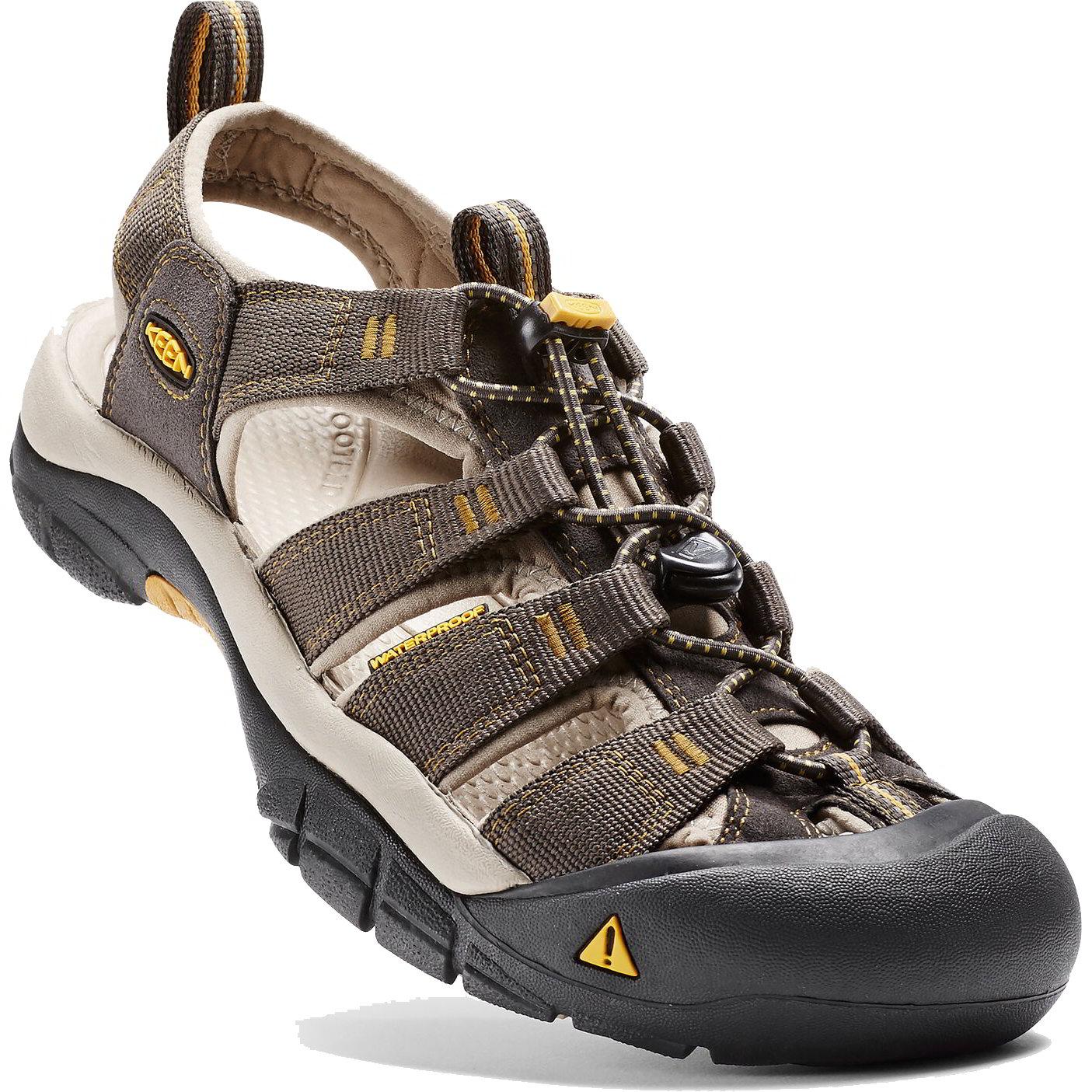 Keen Mens Newport H2 Sandals - Raven Aluminium