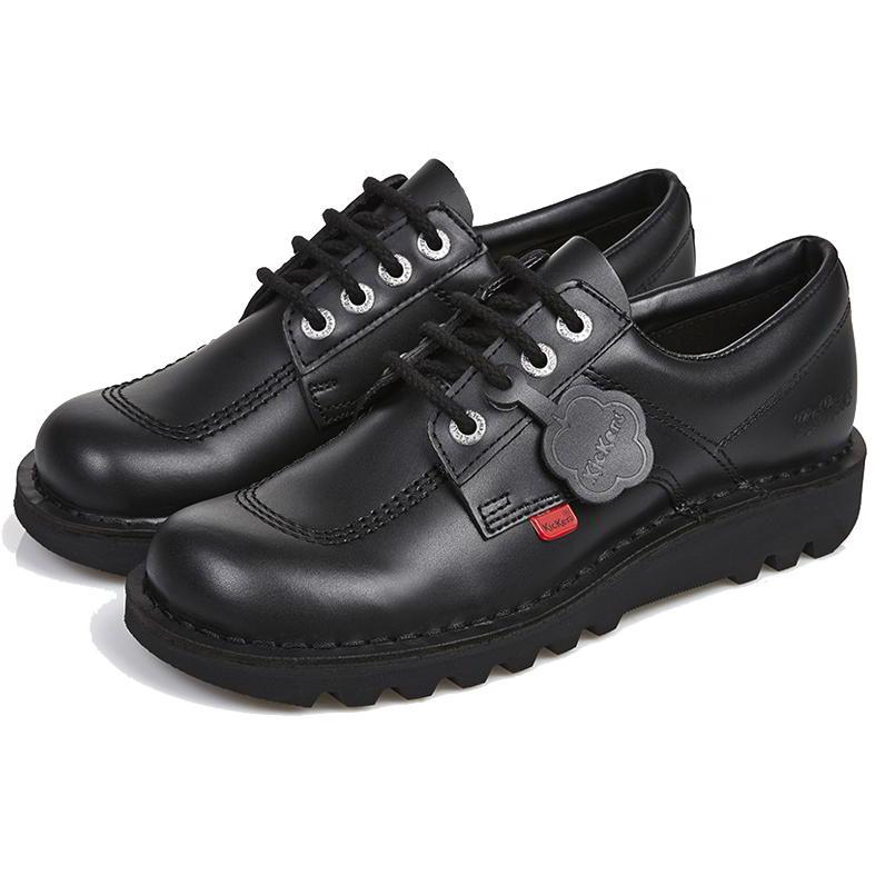 Kickers Womens Kick Lo Core Classic Shoes - Black