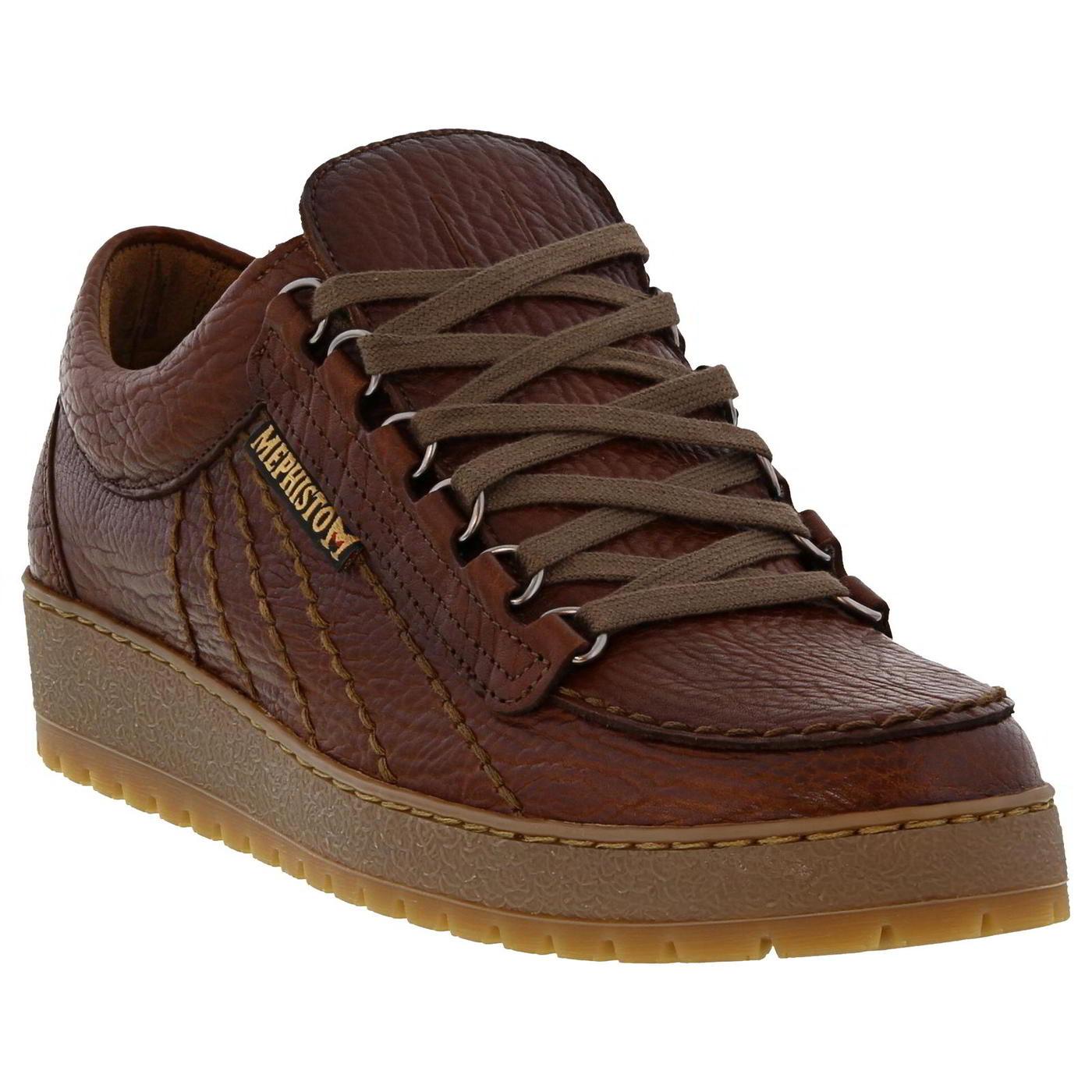 Mephisto Mens Rainbow Heritage Walking Shoes - Desert
