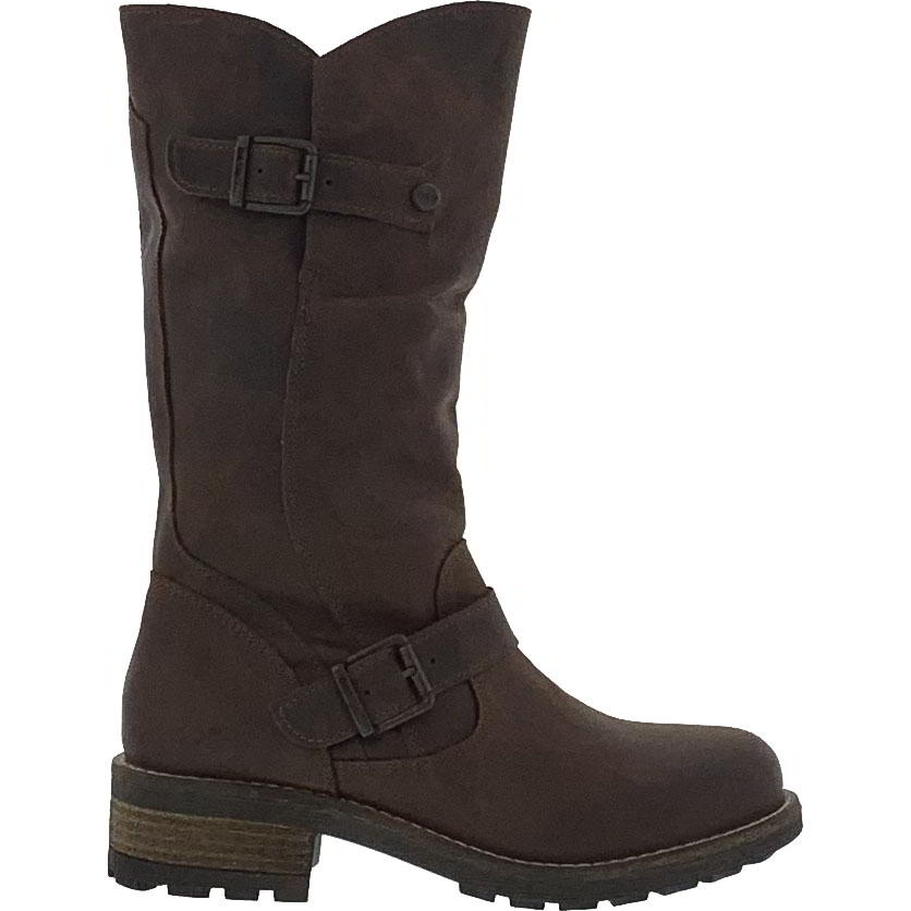 Oak & Hyde Womens Crest Leather Boots - Brown