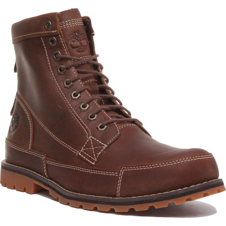Timberland Mens Earth Keeper 6 Inch Wide Fit Ankle Boots - A2JG6 - Rust
