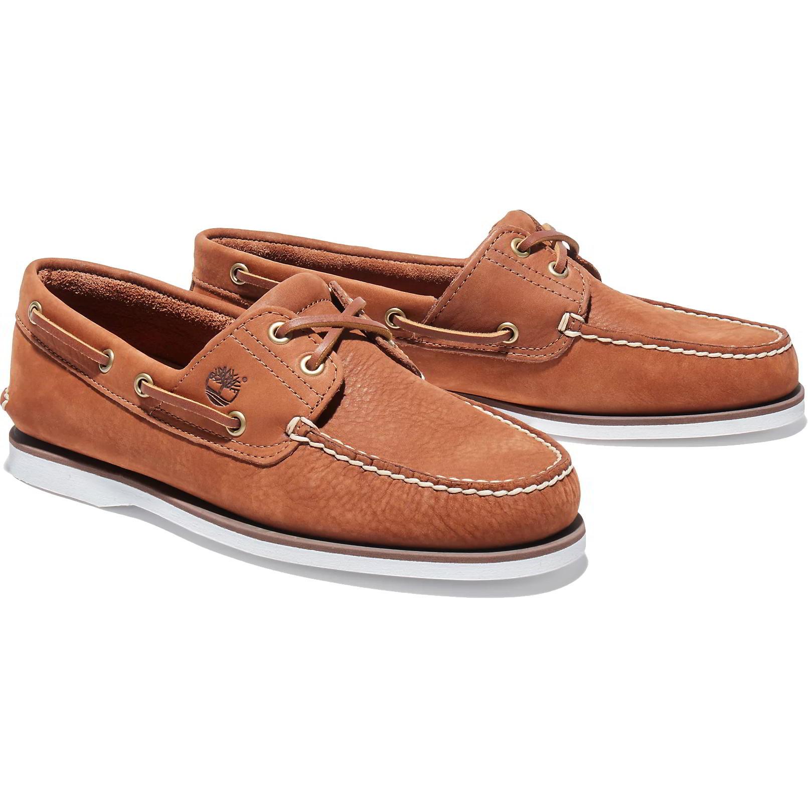 Timberland Mens Classic Boat Shoe - Rust - A43V1