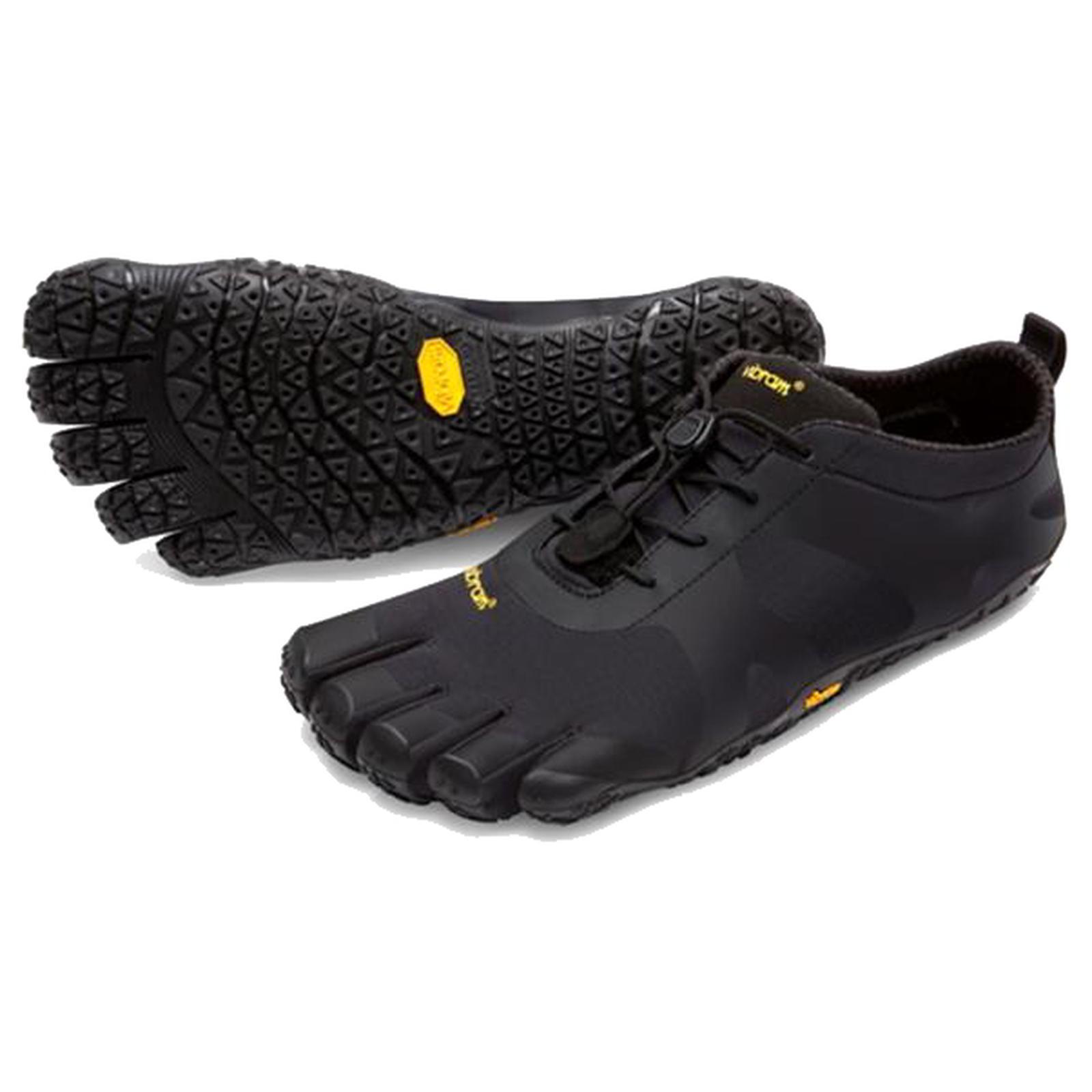 Vibram Five Fingers Mens V-Alpha Barefoot Shoes - Black