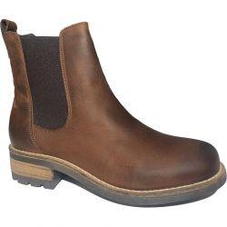 Oak & Hyde Womens Bridge Chelsea Boots - Dark Brown