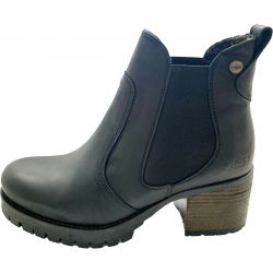 Oak & Hyde Womens Kensington Chelsea Boots - Black