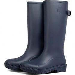 Fitflop Womens Wonderwelly Tall Wellington Boots - Midnight Navy
