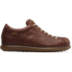 Camper Mens Pelotas Ariel 17408 Shoes - Medium Brown 124