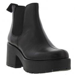 Vagabond Dioon Womens Platform Ankle Boots - Black