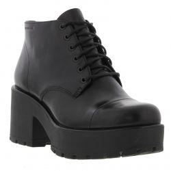 Vagabond Dioon Womens Chunky Platform Ankle Boots - Black
