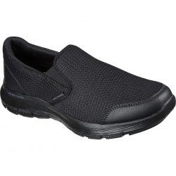 Skechers Mens Flex Advantage 4.0 Tuscan Shoes - Black