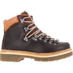 Art Mens Womens 0903 Air Alpine Chukka Boots - Brown