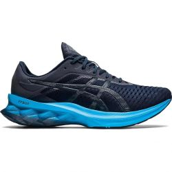 Asics Mens Novablast Running Shoes - French Blue Digital Aqua