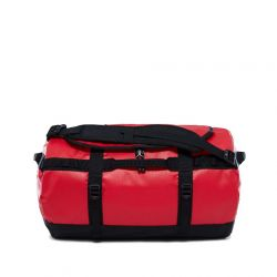 North Face Base Camp Duffel Travel Holdall Bag Size Small - TNF Red TNF Black