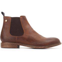 Base London Mens Flint Chelsea Boots - Softy Tan