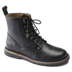 Birkenstock Mens Bryson Boots - Black Natural Leather