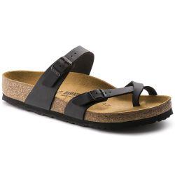 Birkenstock Womens Mayari Sandals Regular Fit - Black