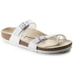 Birkenstock Womens Mayari Sandals Regular Fit - White